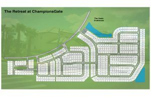 Site Plan - The Retreat at Champions Gate