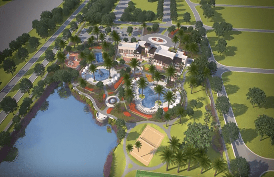 Over View of Clubhouse and Amenities