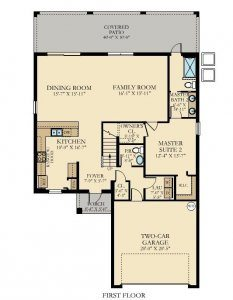 Bali - 5 Bedrooms - 1st Floor - Floor Plan