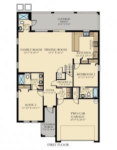 Cayman - 6 Bedrooms - 1st Floor - Floor Plan