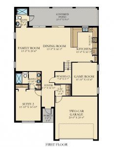 Fiji - 6 Bedrooms - 1st Floor Plan - Floor Plan