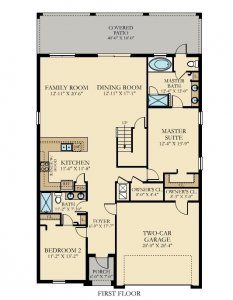 Luau - 7 Bedrooms - 1st Floor - Floor Plan