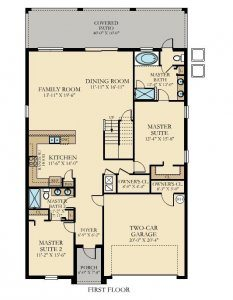 Maui - 8 Bedrooms - 1st Floor - Floor Plan