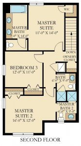Royale Palm - 5 Bedrooms - 2nd Floor - Floor Plan